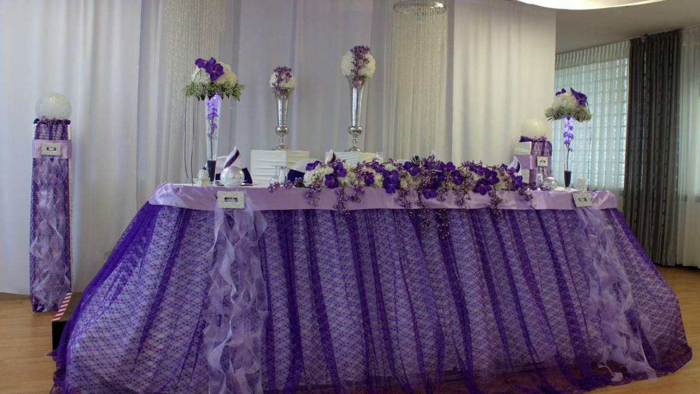 Klassisch elegantes Hochzeitsfest