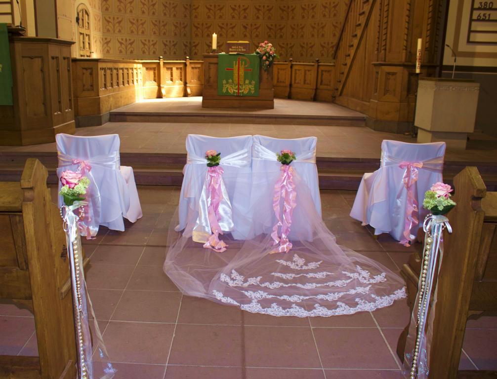 Kirchendeko Hochzeit In Herford Vanda Deko Und Floristik
