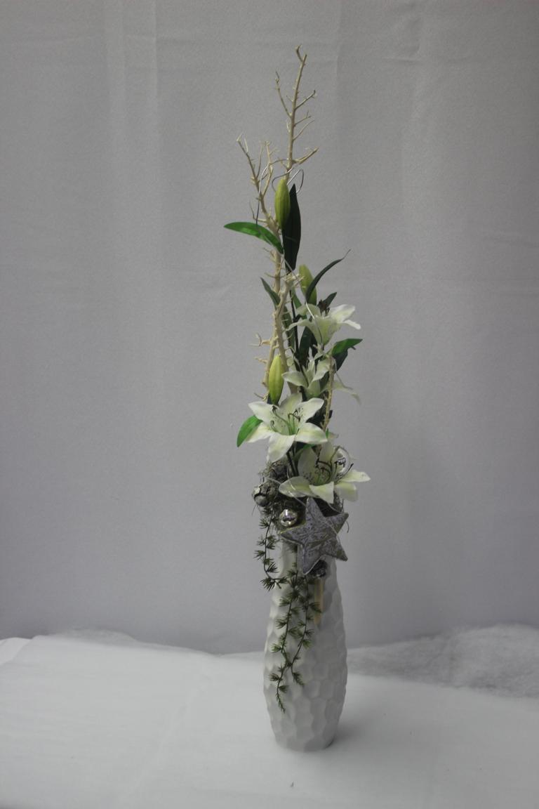 Vase dekoration weihnachten vanda deko und floristik for Dekoration weihnachten