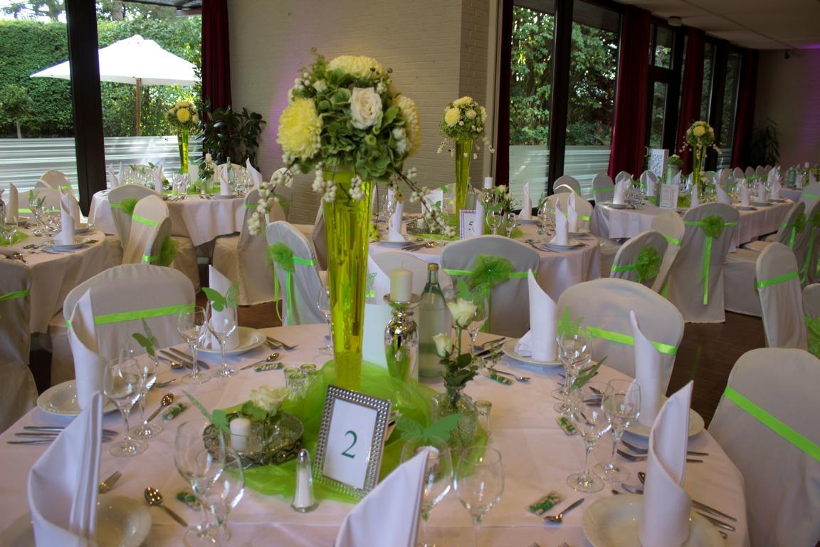 Der Hochzeitstrend – Grünen Töne