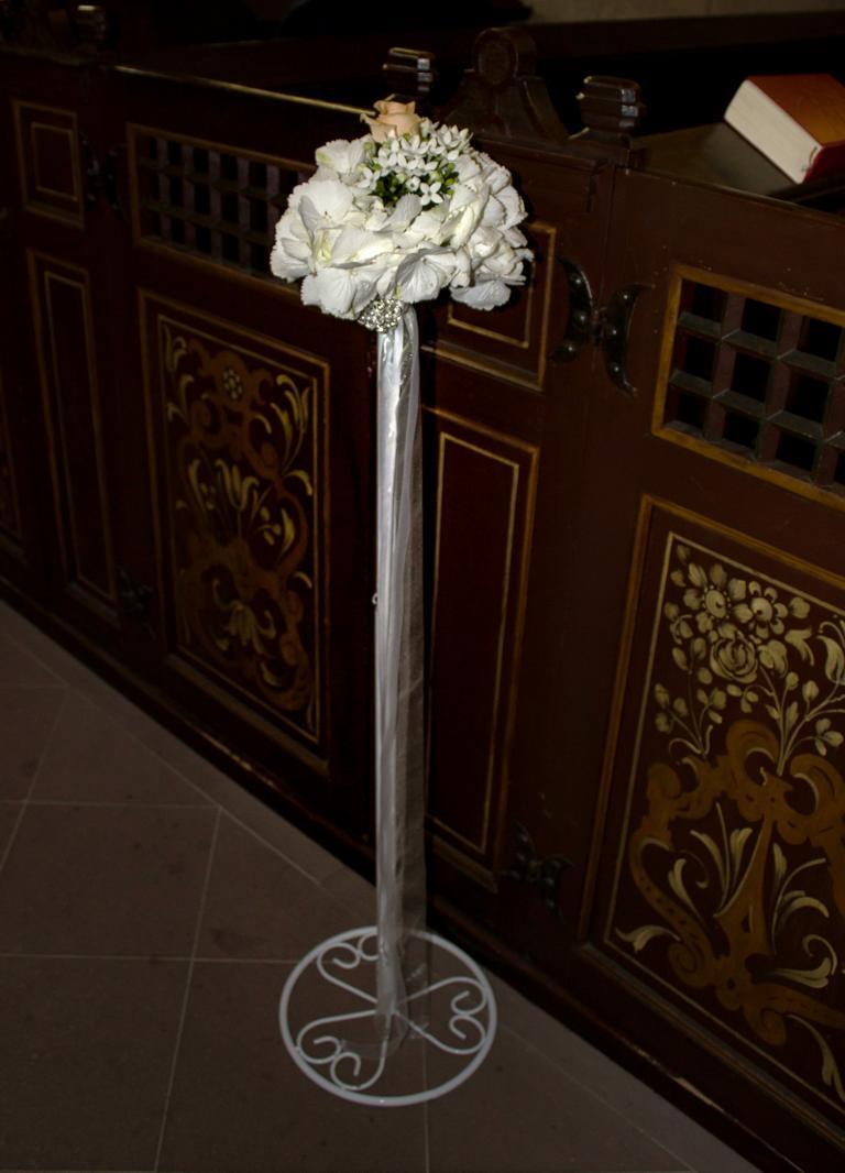 kirchendeko hochzeit in herford vanda deko und floristik. Black Bedroom Furniture Sets. Home Design Ideas