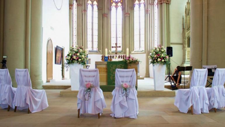 Kirchendeko Hochzeit in Herford