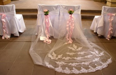 Hochzeit Tischdeko in Rosa