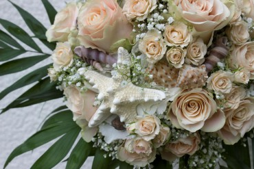 Hochzeit Deko Trends – Farbe Creme