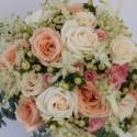 Floristik in Pastellfarben