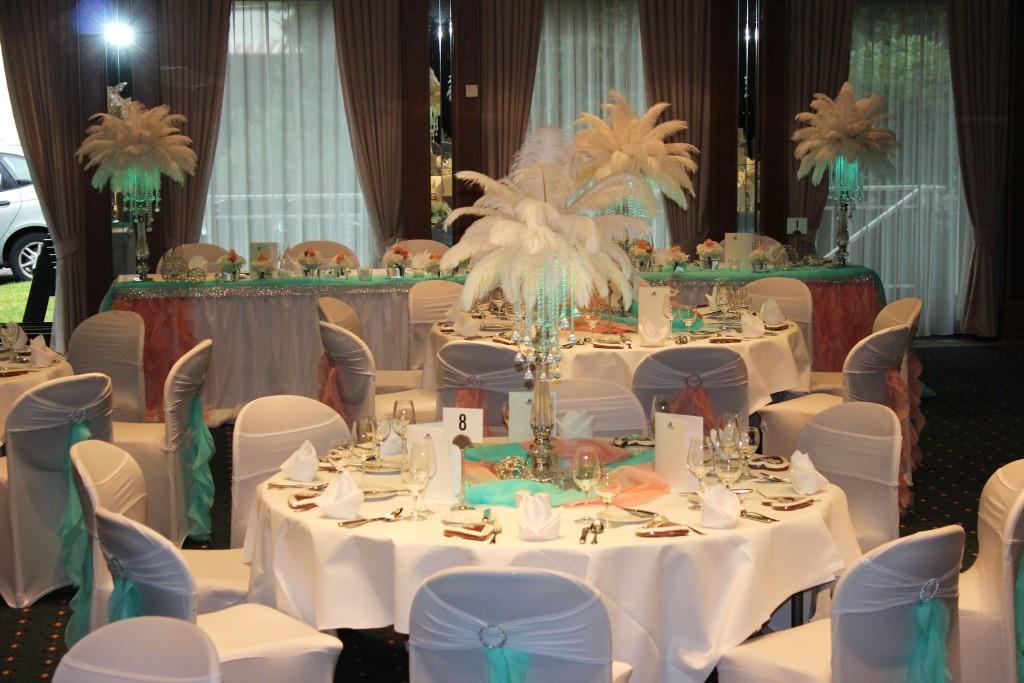 Mint coral dekoration im maritim hotel bad salzuflen - Dekoration maritim ...