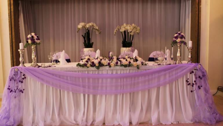 Hochzeitsdeko in Violett – Lila – Flieder