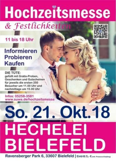 Hochzeitsmesse 2018 ⇒ Hechelei im Ravensberger Park Bielefeld