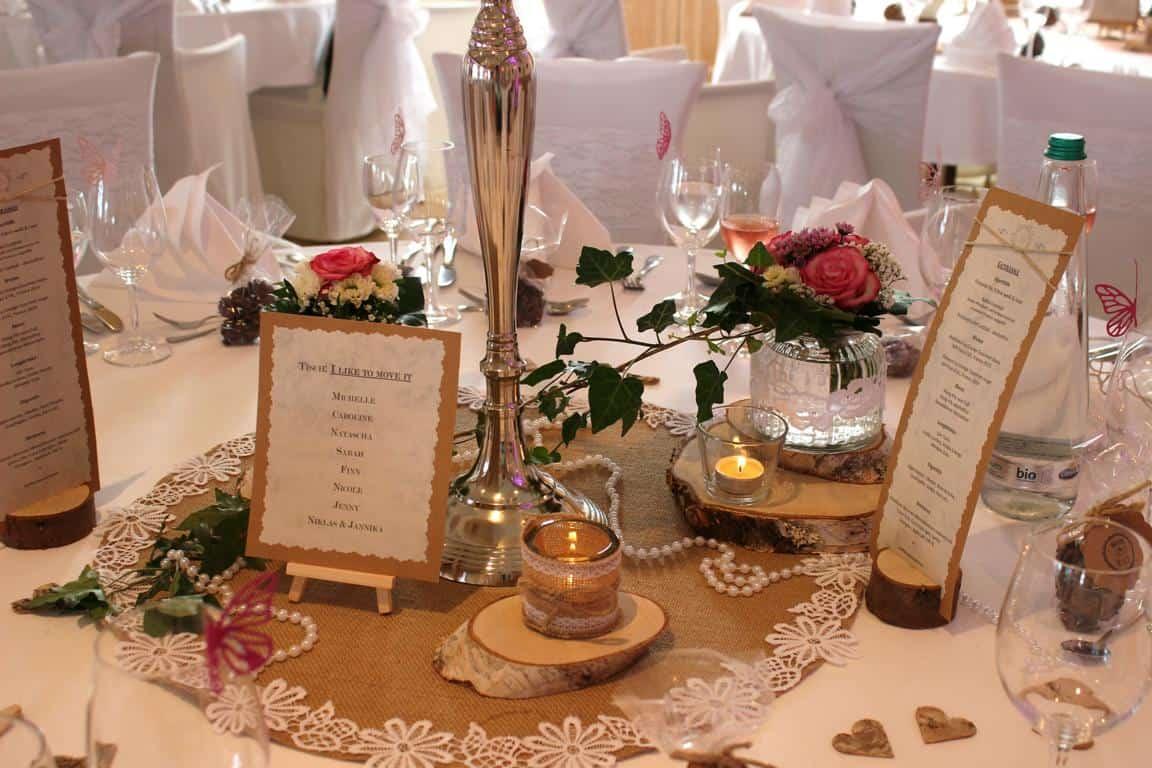 Blumen Workshop Tischdekoration Fur Die Hochzeit Selber Machen
